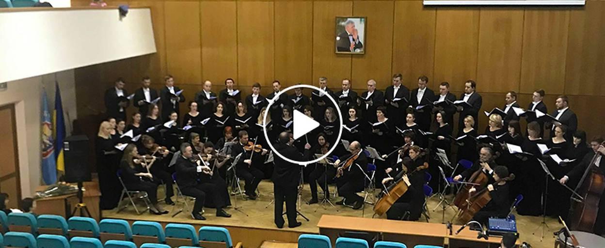 Пам'ять народного артиста України Олександра Зюзькіна вшанували концертом у Борисполі. Відео