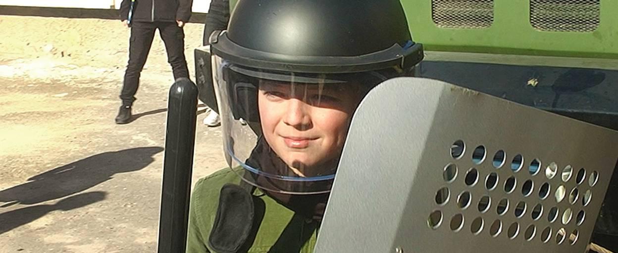 Відчути себе у ролі бійця Національної гвардії України днями змогли бориспільські школярі. Відео