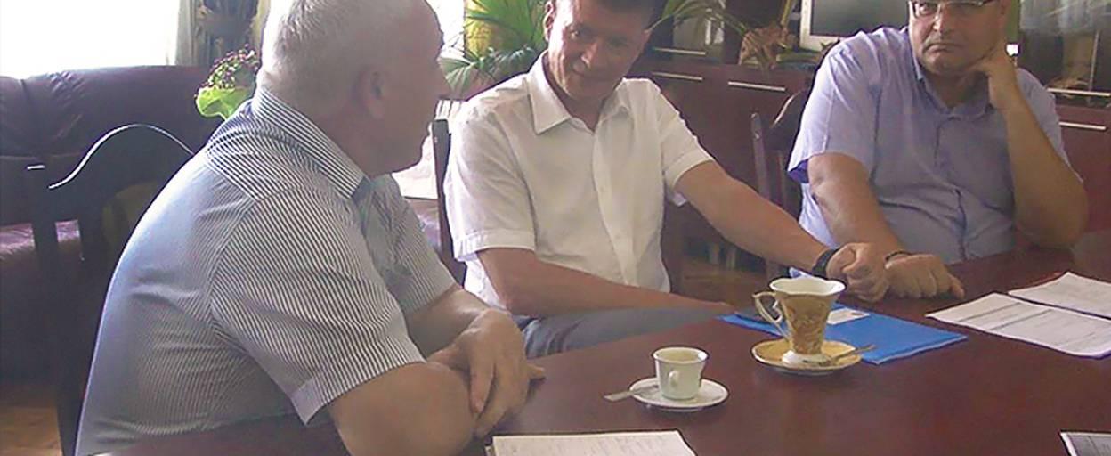Очільник Борисполя зустрівся з головою правління «Київобленерго». Відео