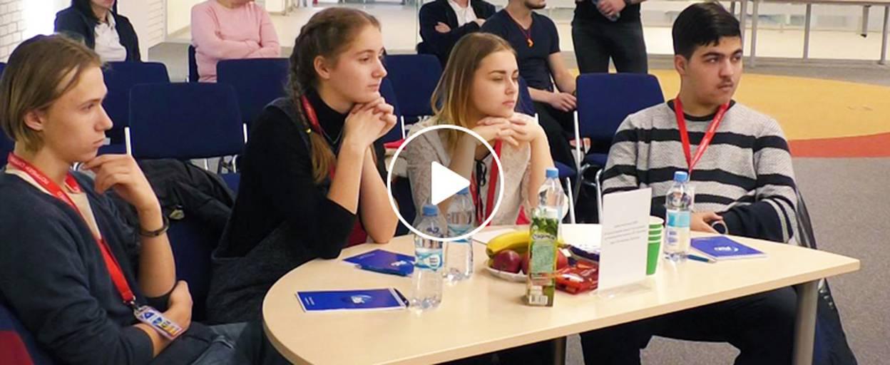 Інтелектуальні змагання серед одинадцятикласників Борисполя організував завод «P&G». Відео