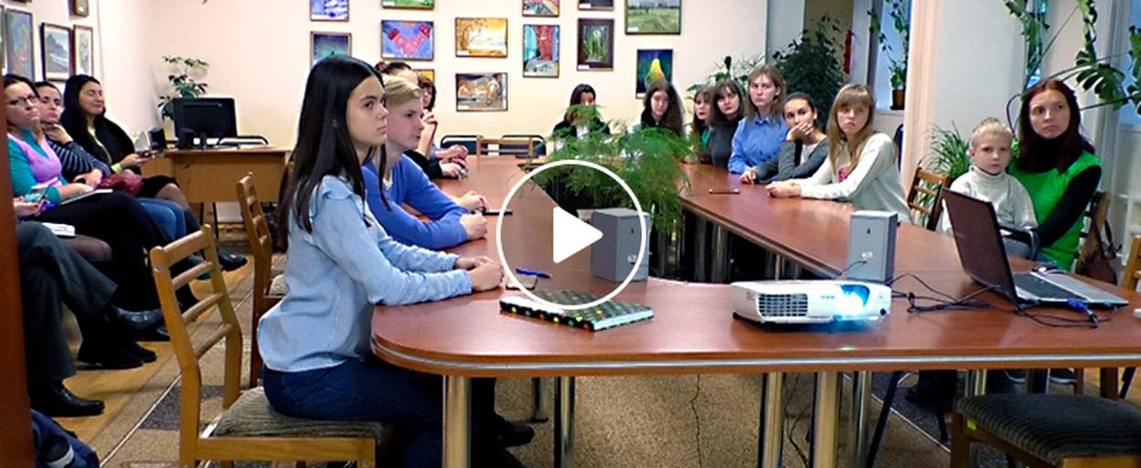 «Озвучимо книжки для незрячих»: бориспільці долучилися до Всеукраїнської волонтерської акції. Відео