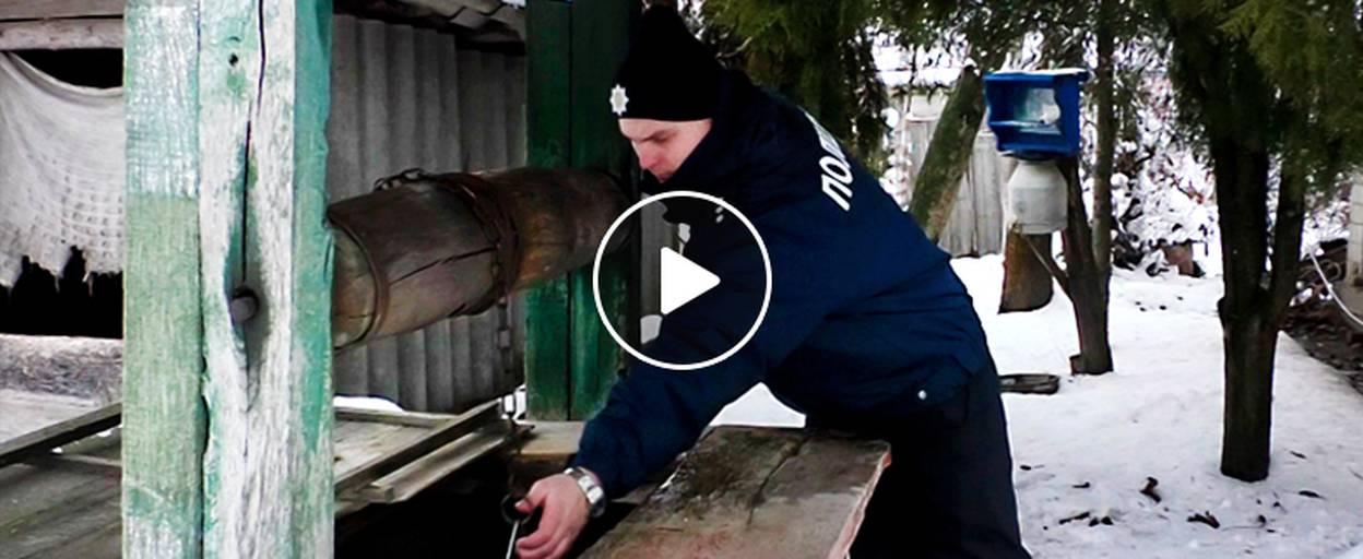 Операція «Візит»: офіцери Бориспільського відділу поліції допомагають людям похилого віку. Відео