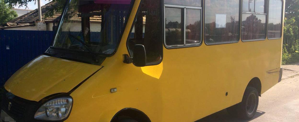 У Борисполі водій автобуса вийшов на рейс імовірно з підробленими документами. Фото