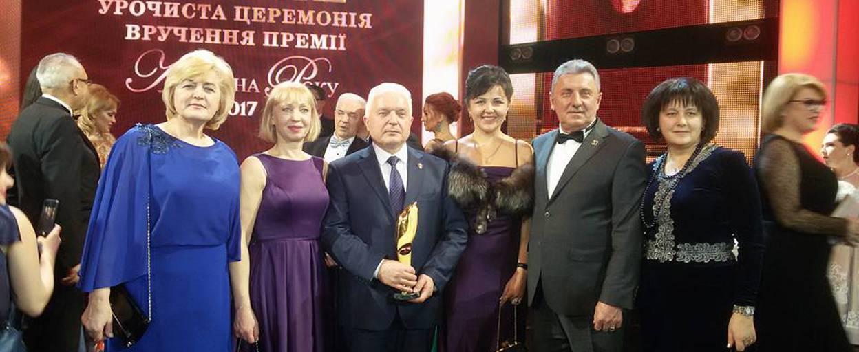 Мер Борисполя – володар титулу «Міський голова року». Фото