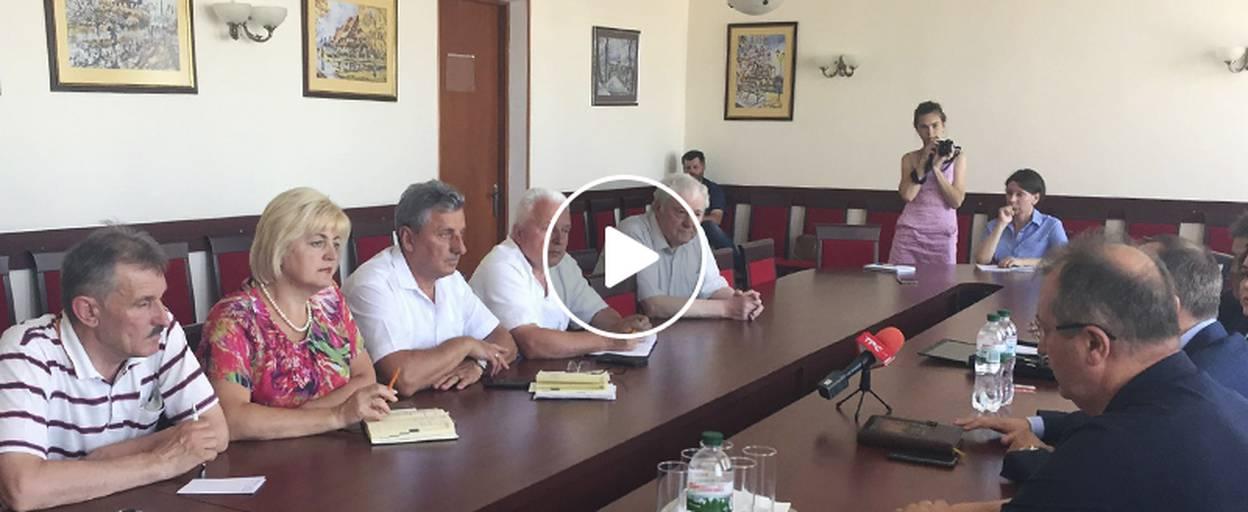 Американська делегація завітала до Борисполя обговорити будівництво сміттєпереробного заводу. Відео