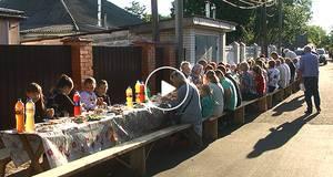 День вулиці у Борисполі: після довгоочікуваного ремонту дороги містяни влаштували свято
