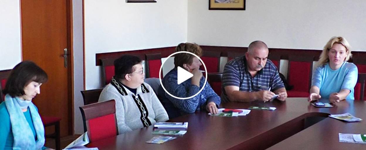 У Борисполі відбулося засідання Центру підтримки учасників АТО та їхніх сімей. Відео