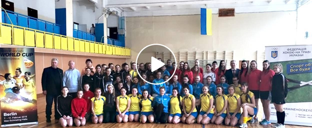 Чемпіонат України з індорхокею у Борисполі: 6 команд поборолися за перемогу. Відео