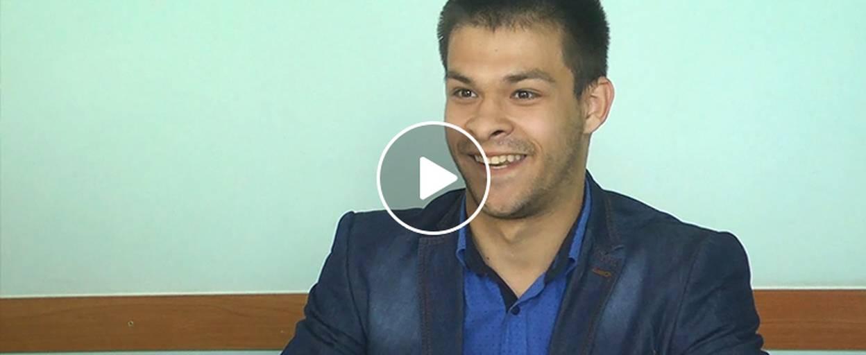 Мешканець Борисполя із ДЦП просить владу допомогти із працевлаштуванням. Відео