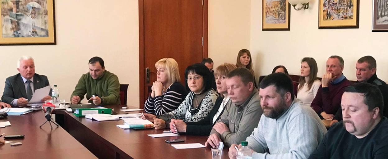 У Борисполі обговорили зміни до програми розвитку міського центру первинної медико-санітарної допомоги. Відео