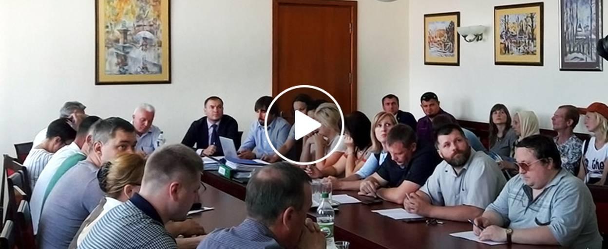 Підвищення тарифу на проїзд у маршрутках Борисполя обговорили на засіданні виконкому. Відео