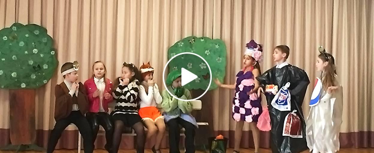 Дитячі та юнацькі колективи позмагалися у щорічному театральному конкурсі. Відео