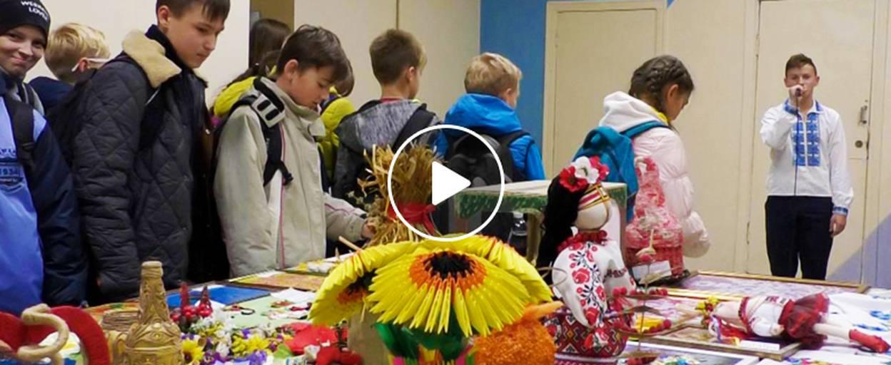 «Український сувенір» у Борисполі – митці презентували більше 160 виробів. Відео