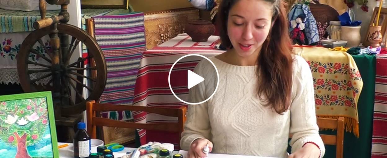 Створюємо вітраж власноруч: майстер-клас бориспільської майстрині. Відео