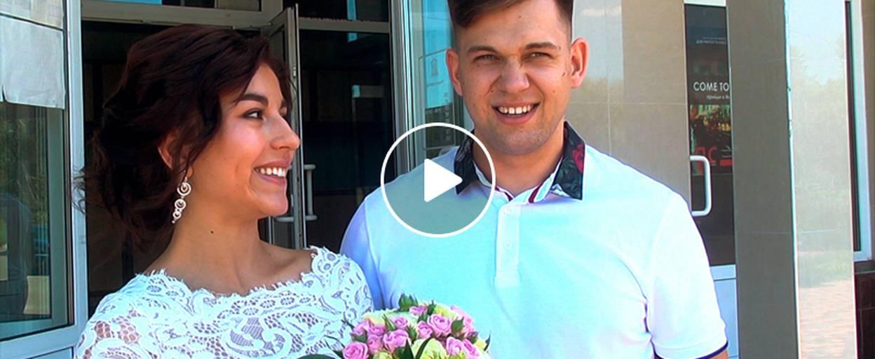 Весільний бум у Борисполі – попри будній день у «щасливу дату» одружилося 6 пар. Відео