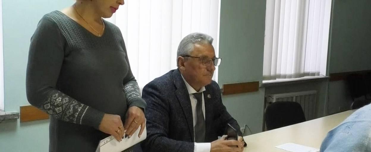 Особистий прийом громадян цього тижня провів перший заступник міського голови Микола Корнійчук