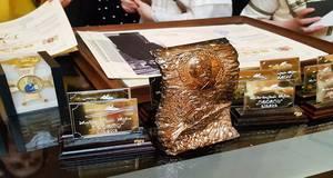 Поета Олександра Колоса посмертно нагороджено орденом Святого Іллі за збірку «Крик душі». Відео
