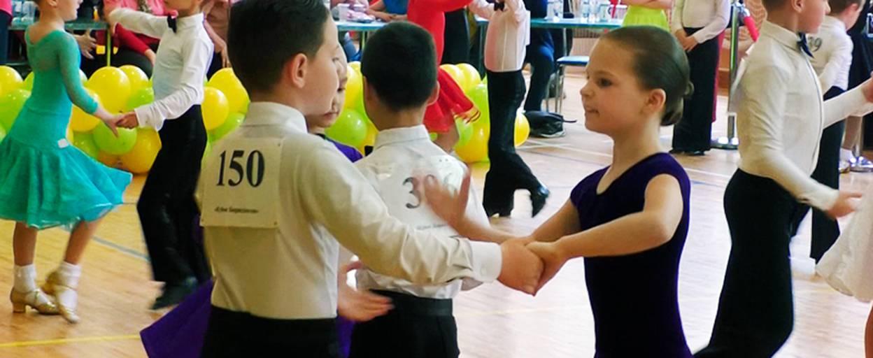 За Кубок Борисполя зі спортивного бального танцю змагалися танцівники з різних куточків Київщини. Відео