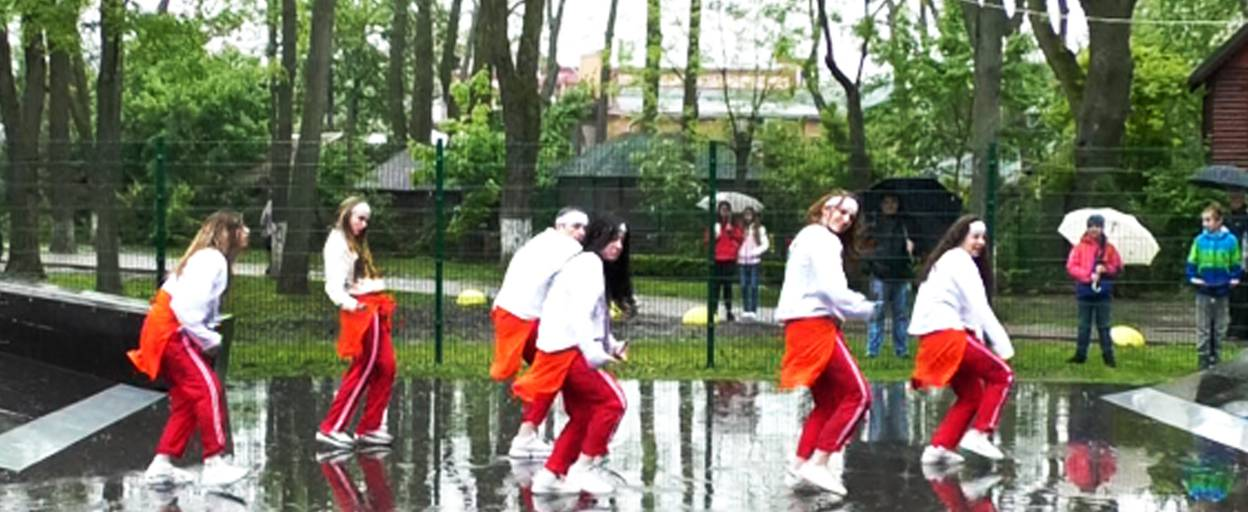 Сучасний скейт-парк для молоді відкрили у Борисполі. Відео