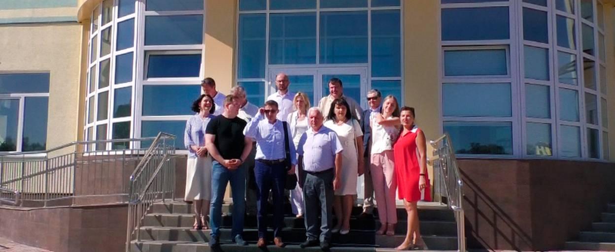 Делегація з Польщі завітала до Борисполя для обміну досвідом. Відео