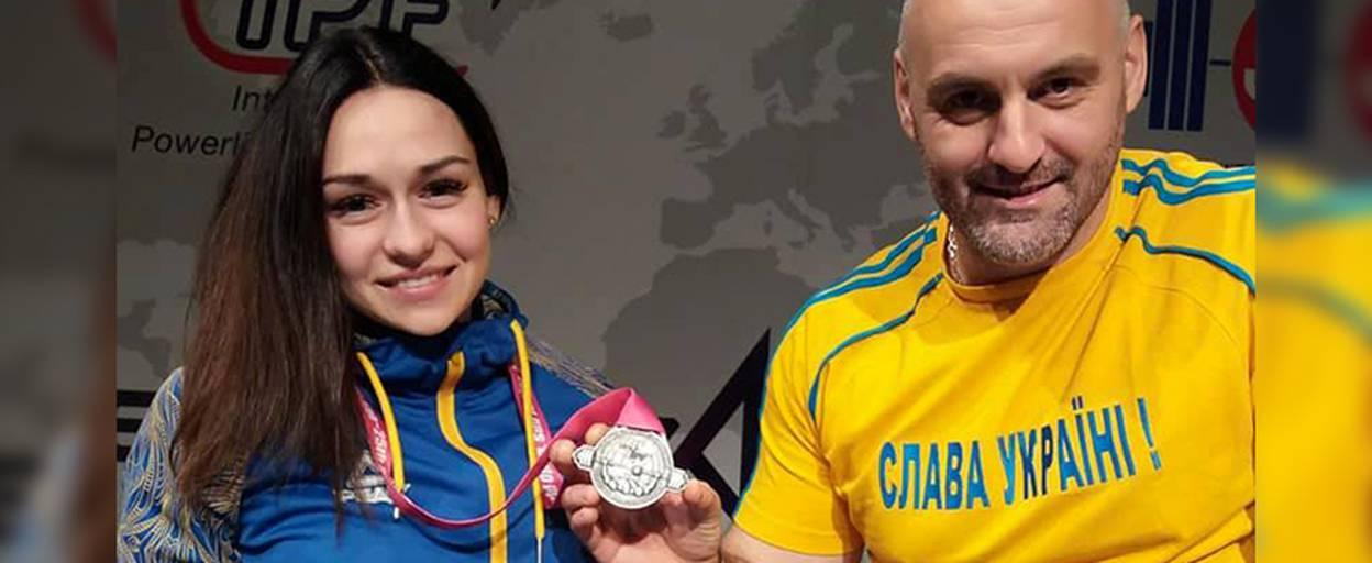 Спортсменка із Борисполя виборола срібло на Чемпіонаті світу з класичного жиму лежачи. Відео
