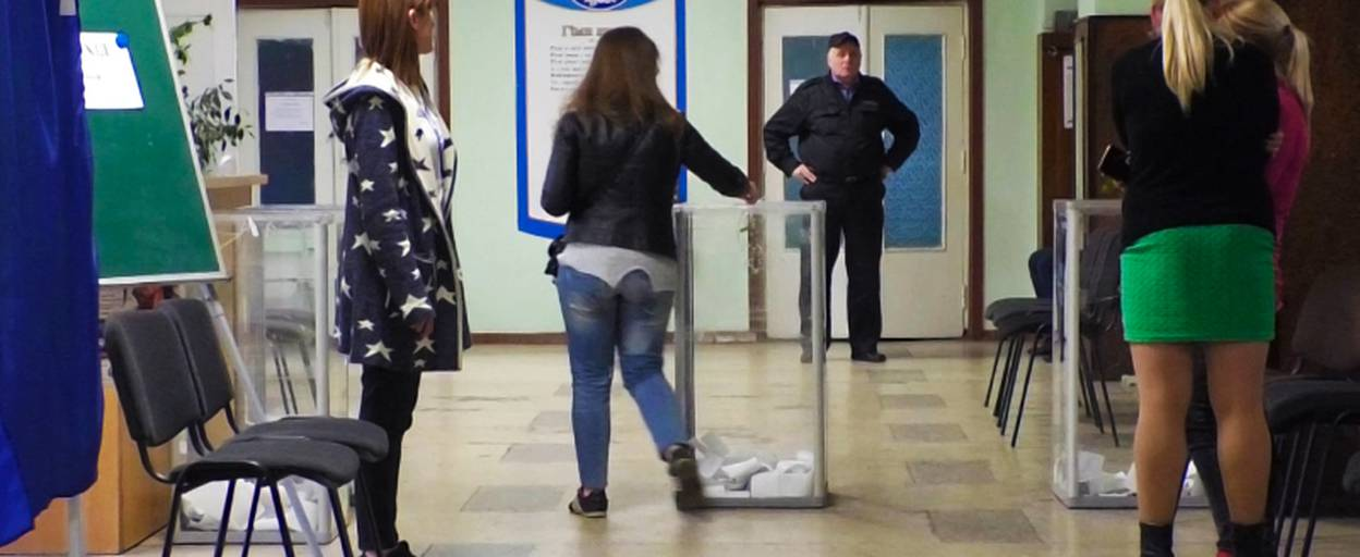 Виборчі дільниці у Борисполі закрито: явка у другому турі менша, ніж у першому. Відео