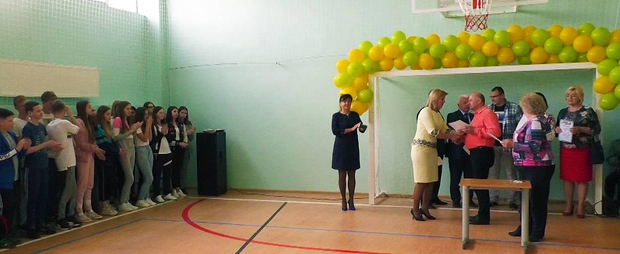 Нову спортивну залу урочисто відкрили у шостій школі Борисполя. Відео