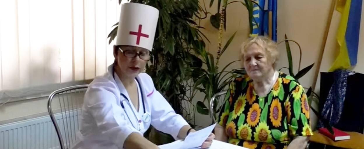 День людей похилого віку у Борисполі відзначили святковим обідом