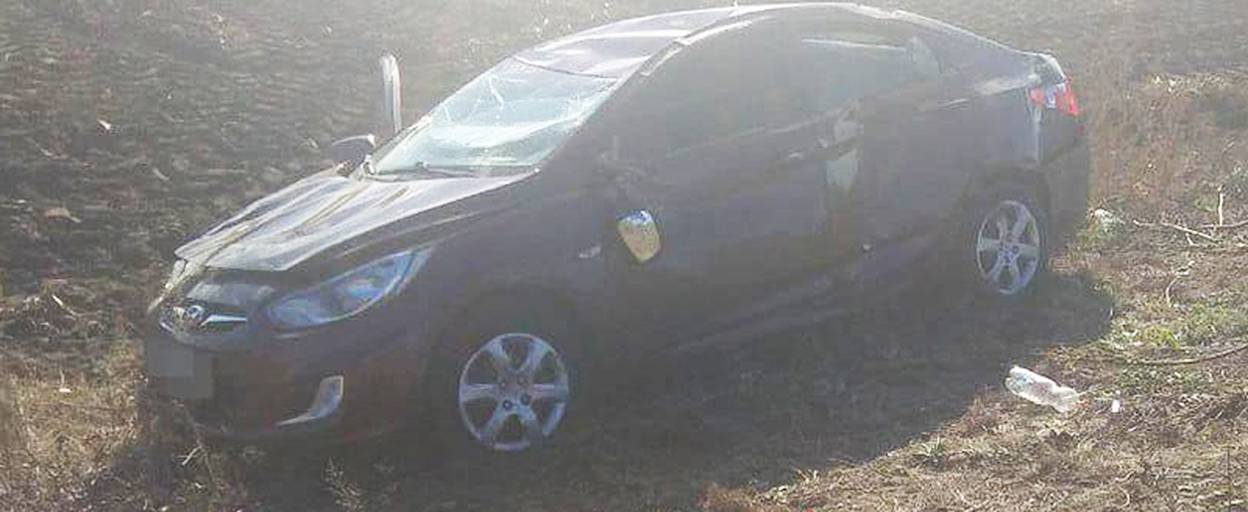 Під Борисполем водій автомобіля ледь не загинув через пошкоджене колесо