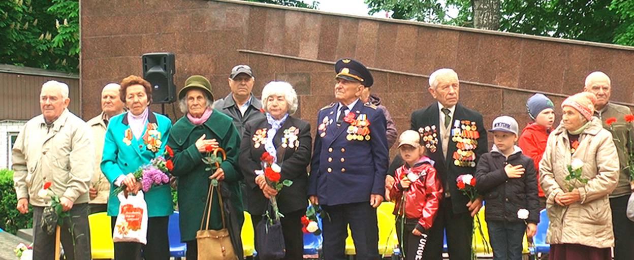 Бориспільці вшанували пам'ять героїв Другої світової війни. Відео