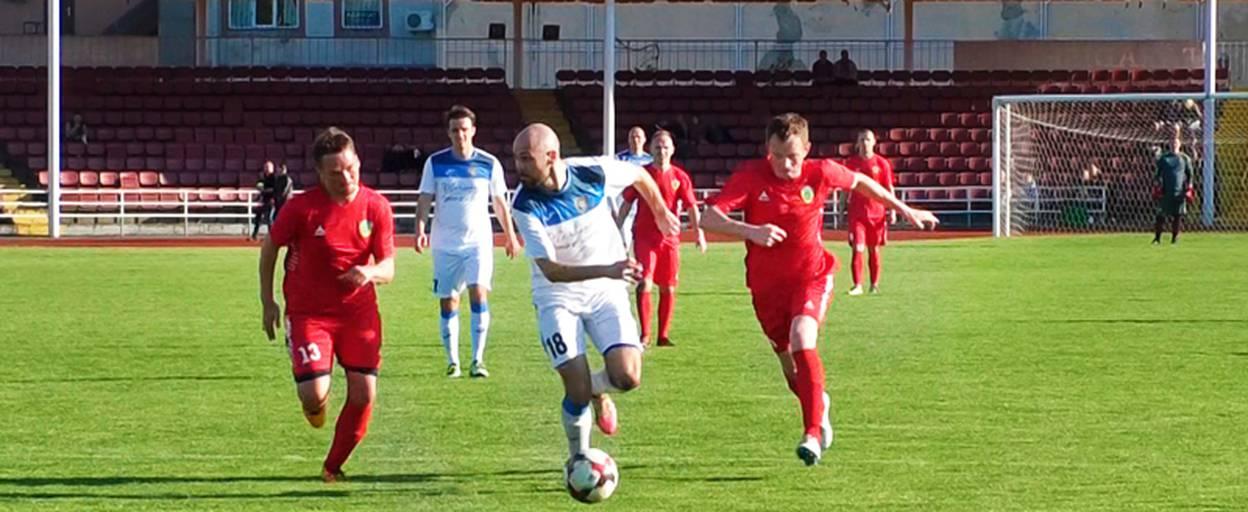 Футбольний клуб Борисполя розгромив суперників у п'ятому турі чемпіонату Київщини. Відео