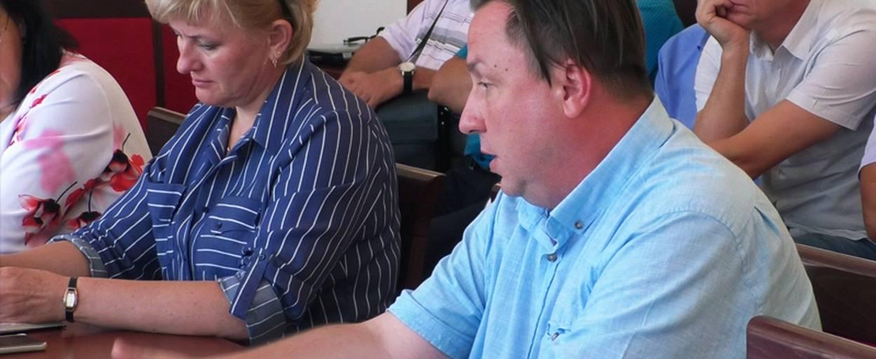 Очільник «первинки» Борисполя перейняв медичний досвід у колег з Бахмута. Відео