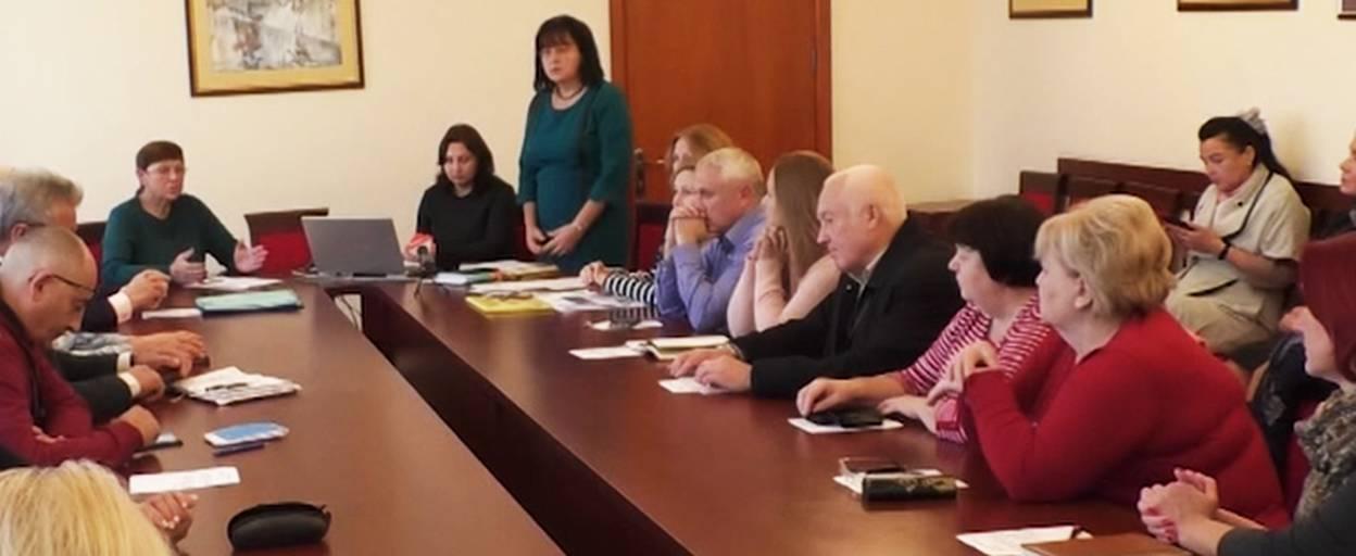 Проект з реконструкції бориспільської школи обговорили на засіданні громадської ради