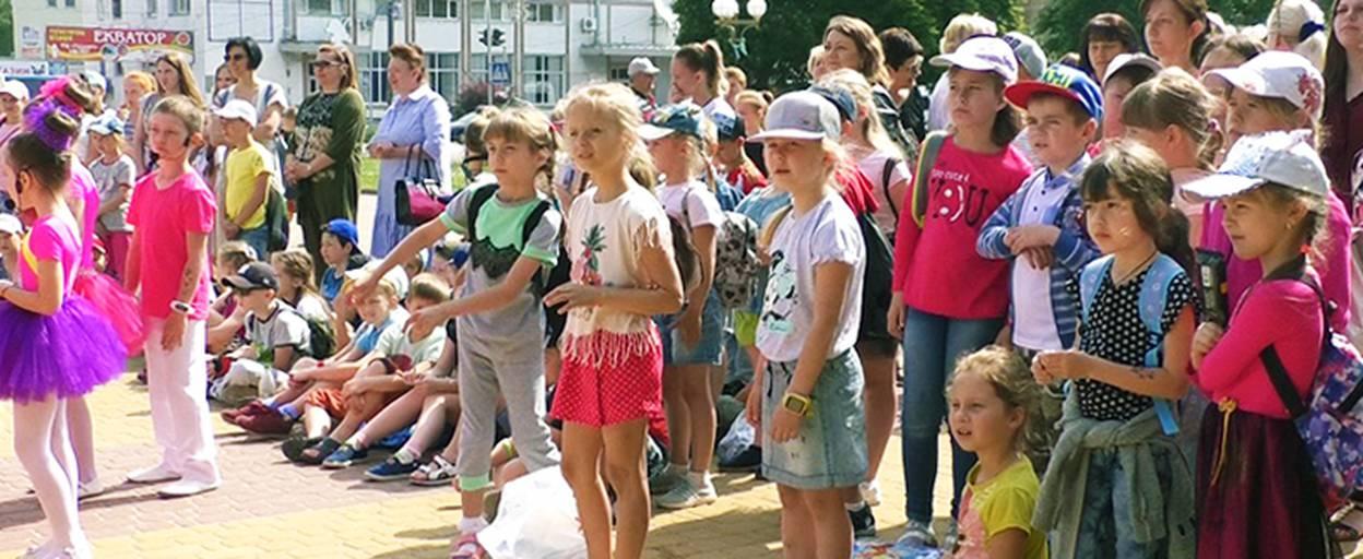 До Дня захисту дітей Бориспіль влаштував на Європейській площі «Країну мрій». Відео