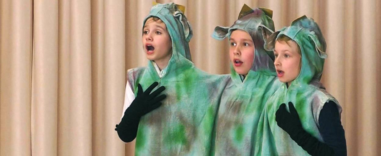 Театральні колективи Борисполя позмагалися у щорічному конкурсі. Відео