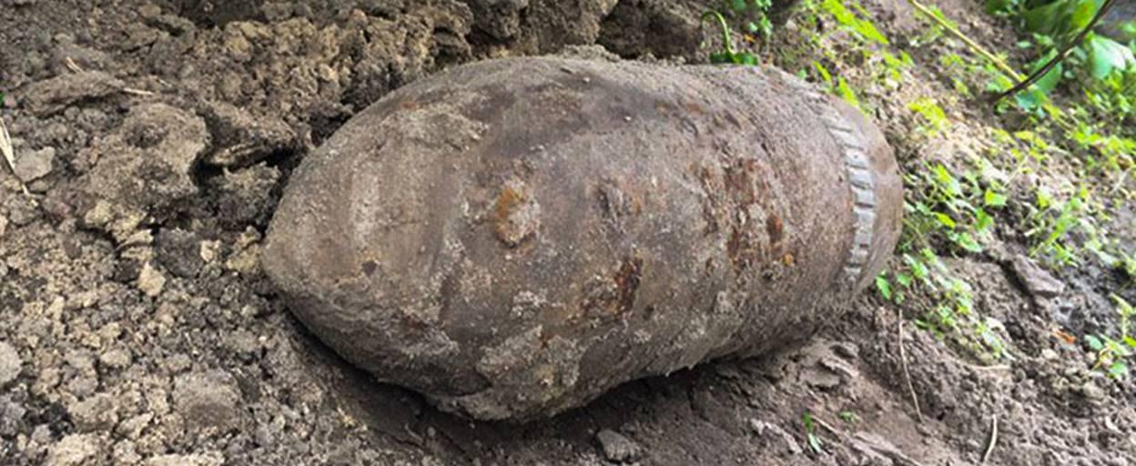 У Борисполі чоловік виявив на своєму подвір'ї ймовірні боєприпаси. Фото
