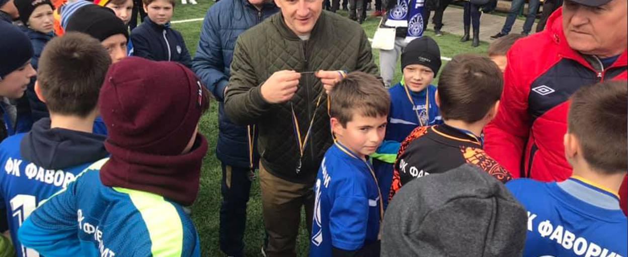 Фінал першого зимового відкритого чемпіонату Борисполя з футболу серед юнаків