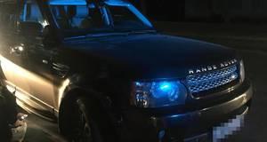 Елітне авто, яке у базі розшуку Інтерполу, виявили у Борисполі