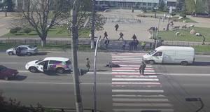 У Борисполі на злощасному переході легковик збив чоловіка
