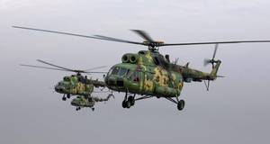 Під Борисполем гелікоптер Мі-8 ЗСУ здійснив вимушену посадку