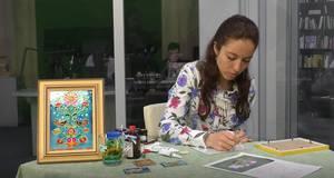 Майстер-клас з вітражного розпису до Дня Перемоги від художниці Катерини Поляруш