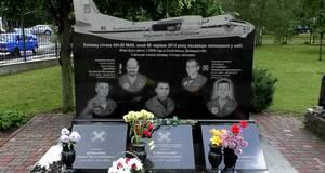 У Борисполі вшанували пам'ять членів екіпажу літака АН-30 ескадрилі «Блакитна стежа»