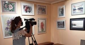 """У Борисполі онлайн відкрили Всеукраїнську виставку живопису """"Подих акварелі"""""""