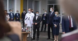 Зеленський з ревізією втретє приїхав до Бориспільської лікарні інтенсивного лікування