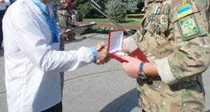 Десятьох учасників бойових дій на сході нагородять медаллю «Князя Бориса»
