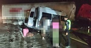 Під Борисполем сталася ДТП за участю 4 транспортних засобів: 5 осіб загинуло та 20 отримали травми