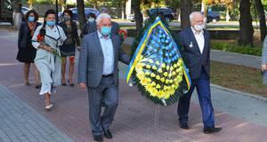 Річницю визволення міста Бориспіль від нацистських загарбників відзначили покладанням квітів
