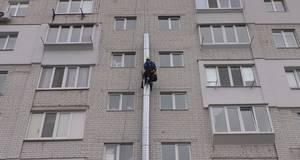 Підприємець у Борисполі намагався незаконно встановити систему вентиляції по стіні житлового будинку