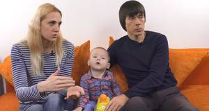 Хворий на спінальну м'язову атрофію півторарічний Микитка потребує допомоги