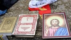 Із церкви викрали ікони та молитовники – патрульні Борисполя затримали імовірного крадія. Фото
